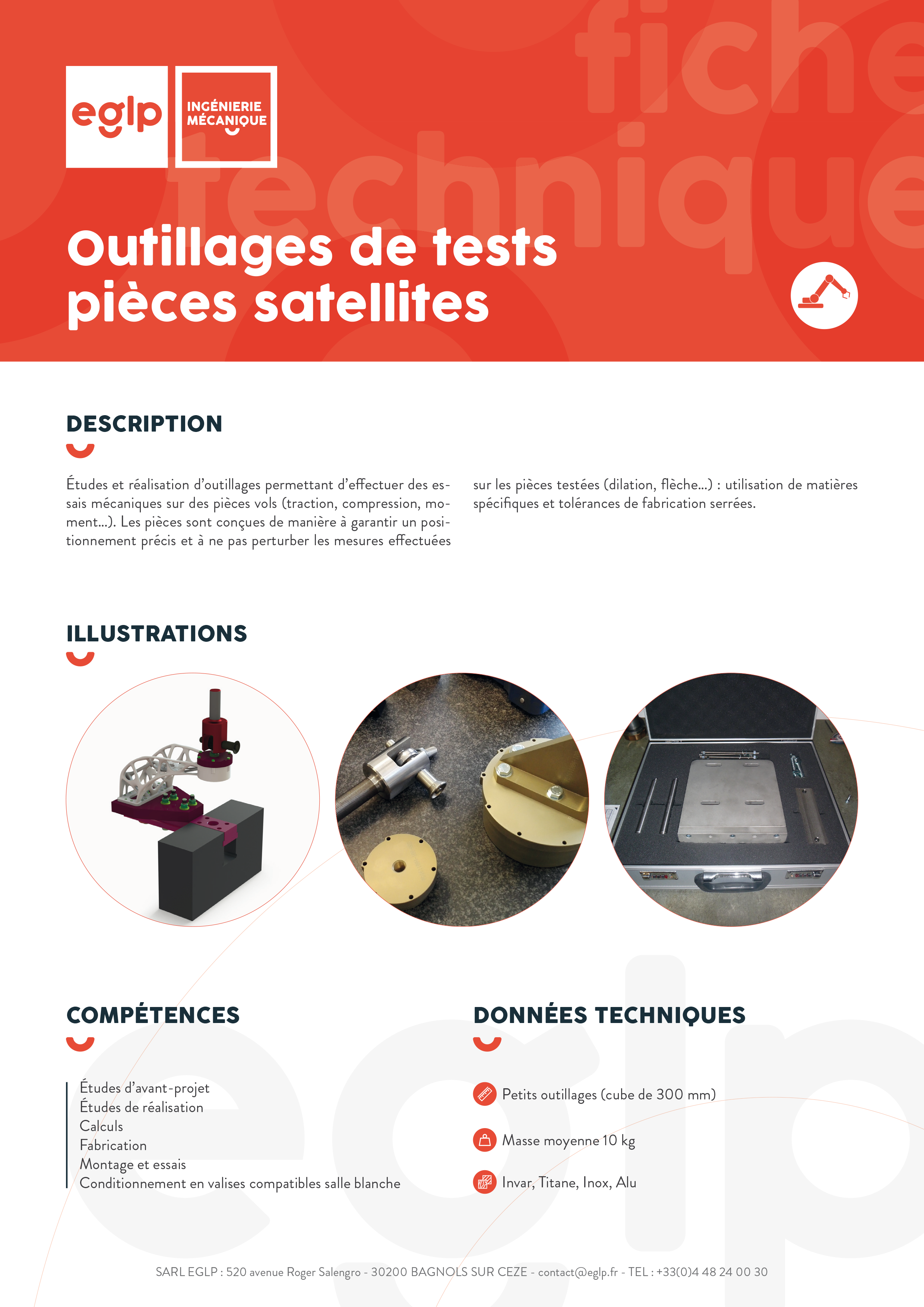 Outillages-tests