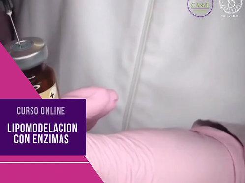 Lipomodelación con enzimas