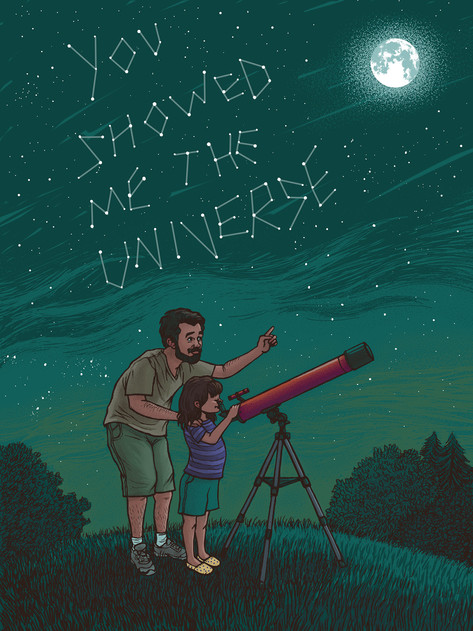 YOU SHOWED ME THE UNIVERSE