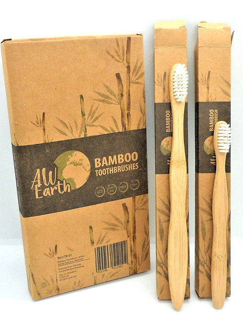 Bamboo Toothbrush Set from Glow with Nature