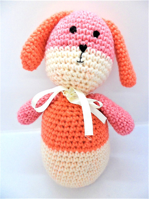 Crocheted Rabbit by Happy Hobbies