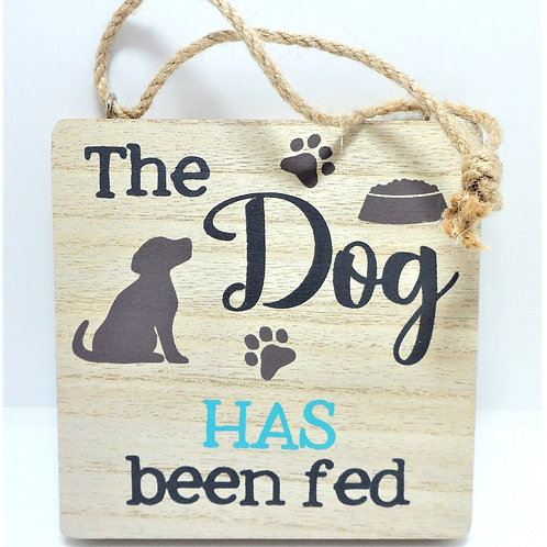 Reversible Dog Sign from Willow