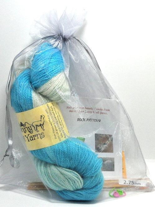 Sock Kits by Jenny Knoll Yarns