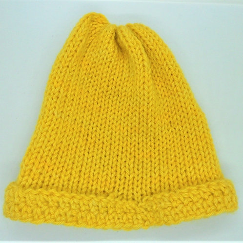 Hand Dyed Woollen Hat by Jenny Knoll Yarns