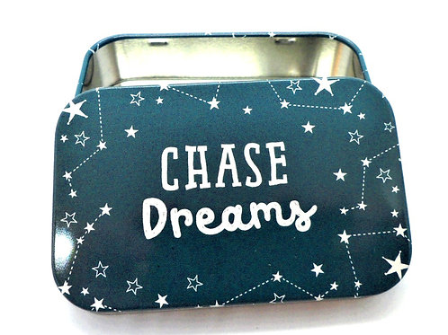 Chase Dreams Tin from Teme Trinkets