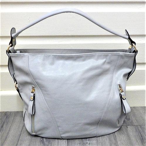 Light Grey Handbag from Teme Bag Lady