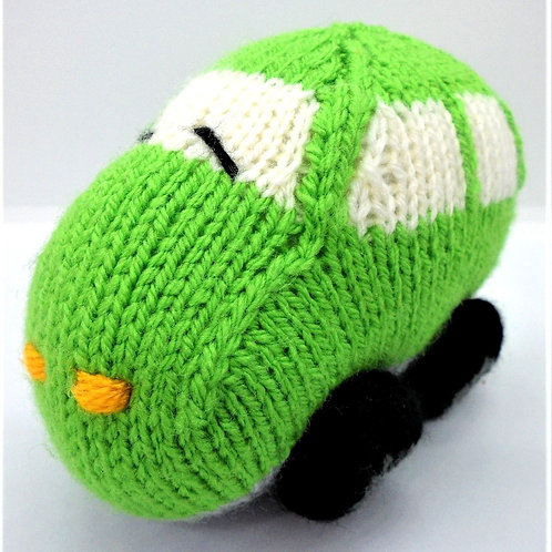Knitted Cars by Natty Knitter