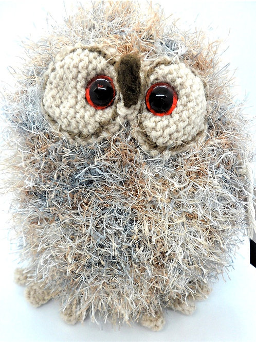 Owl Soft Toys by Handmade Hedgehogs, Owls & Pals