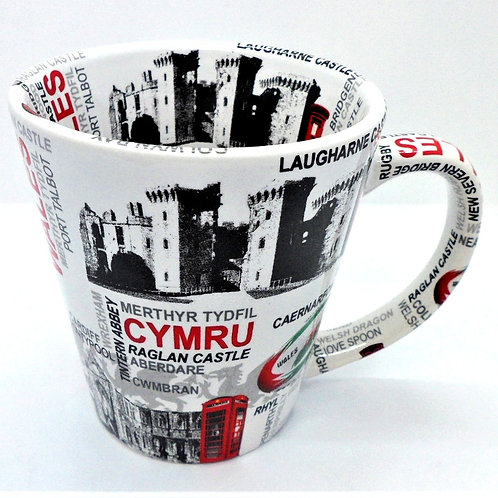 Welsh Mugs From Teme Trinkets