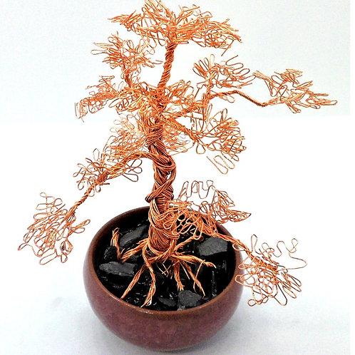 Miniature Wire Bonsai Tree by CG Jewellery