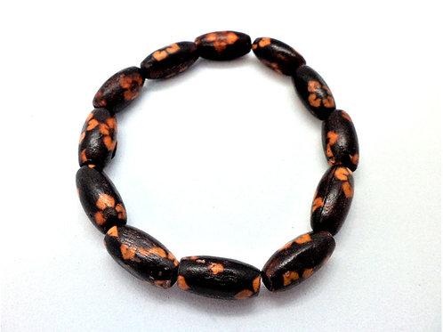 Wood Effect Elastic Bracelets by CG Jewellery