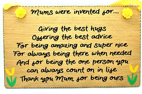 Mums Were Invented For Plaque by Create, Love & Admire