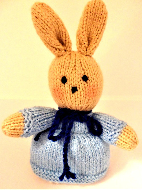 Knitted Bunnies by Natty Knitter