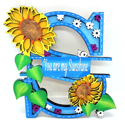 Letter Plaques by Create, Love & Admire