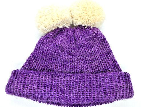 Double Bobble Hat by Jenny Knoll Yarns