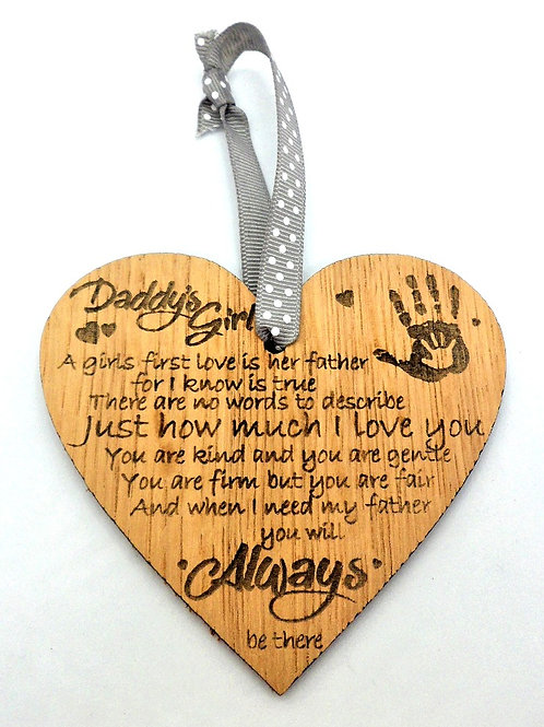 Heart-shaped Plaques by Create, Love & Admire