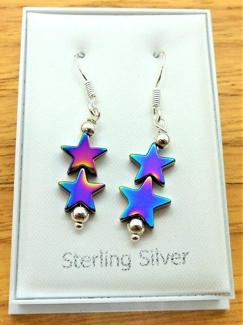 Sterling Silver Drop Earrings by Valma's Jewellery