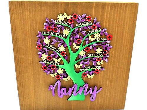 Nanny Plaque by Create, Love & Admire