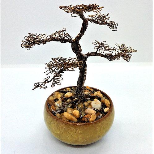 Miniature Wire Bonsai Trees by CG Jewellery