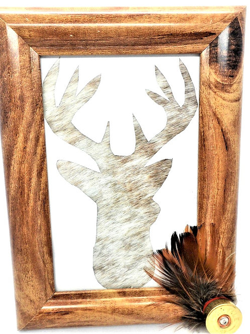 Stag Frame by Busy Bee