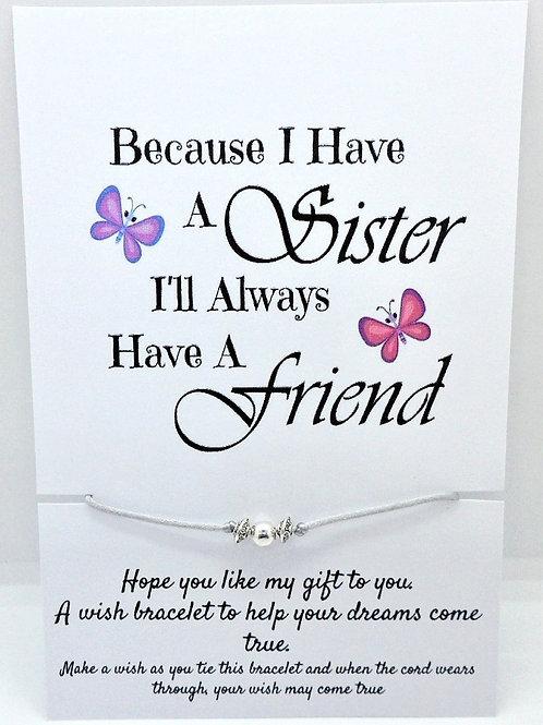 Family Sentiments Wish Bracelets by C G Jewellery