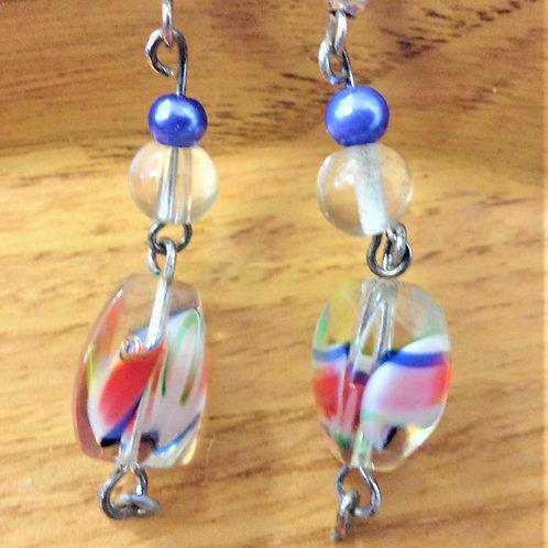Glass Bead Earrings by Dollies