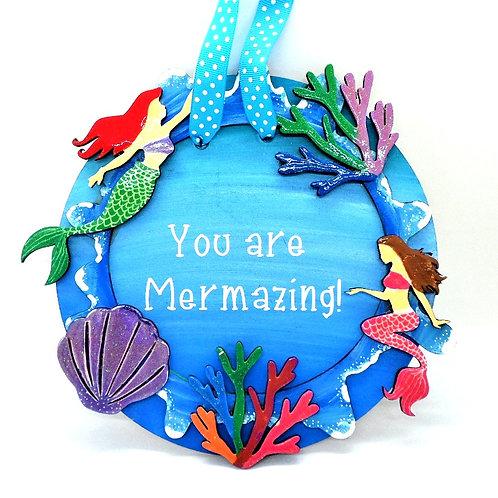 Mermazing Plaque by Create, Love & Admire