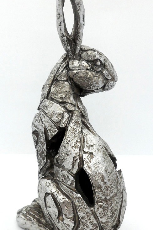 Sitting Hare - the Natural World Leonardo Collection from Teme Trinkets