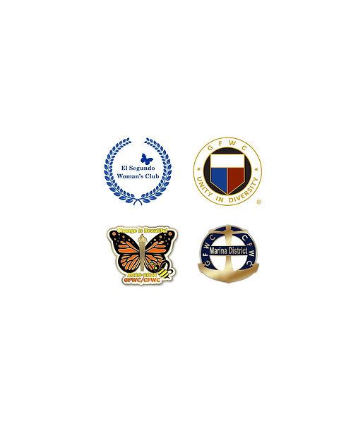 Women's Club Organizations logos