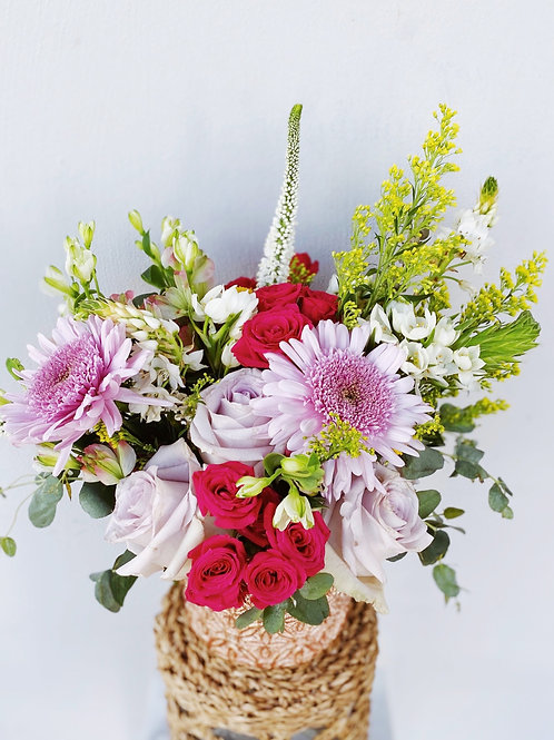 Small - Traditional Style Floral Arrangement