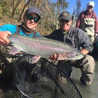 Fly fishing Kenai River Tyler Guided fishing charters