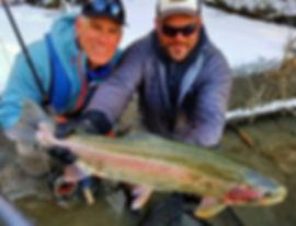 Kenai River Fishing with Guide for Alaskan Rainbow Trout Kenai River Cowboys