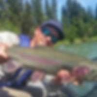 Fly fishing guide tyler on Kenai River Alaska