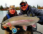 kenai river fishing for trophy rainbows
