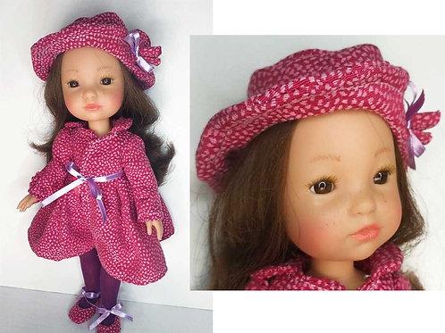 Berjuan Fashion girl Morena abrigo 850