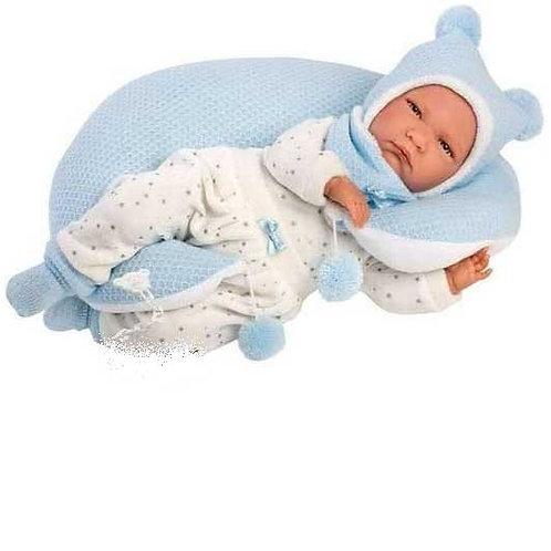 Bébé Nino Lune jouet-reborn  43cm par Miguel Llorens