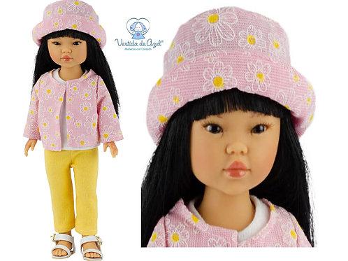 Vestida de Azul Umi 28 cm UMI-7411