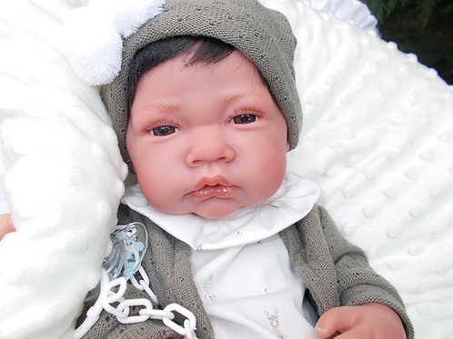 Recien Nacido Cojin jouet-reborn sexué garçon Antonio Juan 5033