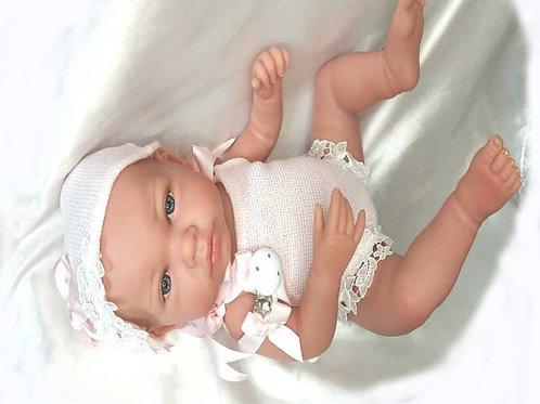 Bébé Anne  Rosé par Marina & Pau 45cm