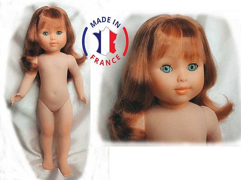 Marie Françoise de Numérotée de PetitCollin  cheveux longs frange rousse 284091