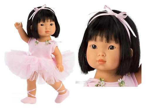 Poupée asiatique  réaliste Lu Ballerine 28cm de Miguel Llorens 53528