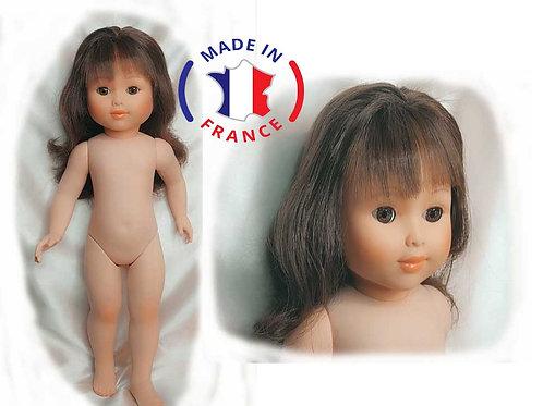 Marie Françoise de Numérotée de PetitCollin  cheveux longs frange brune 284082