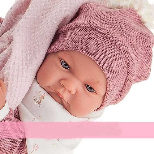 Bébé  Nica jouet-reborn 44 cm sexué fille Antonio Juan