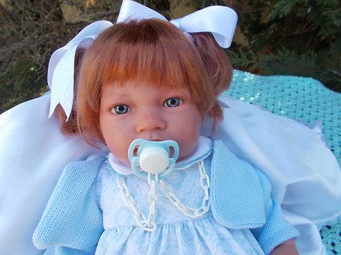 Laura bébé jouet-reborn 49cm Alberto Asi