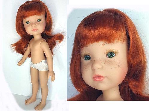 Berjuan Fashion Desnuda Rousse nue 2853