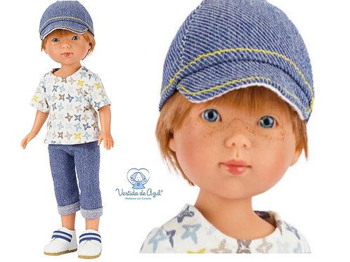 Vestida de Azul Eliot 28cm ELI-7302