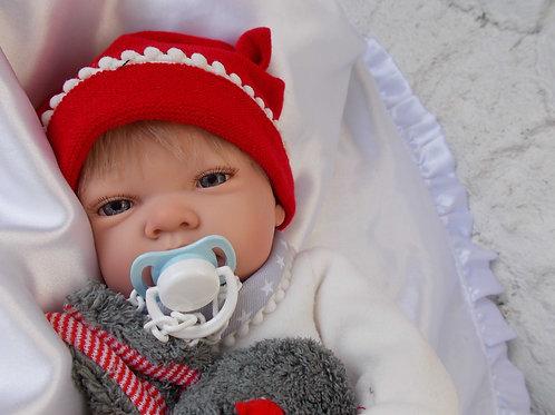 Bébé Lukas  jouet-reborn Nines d'Onil 45cm