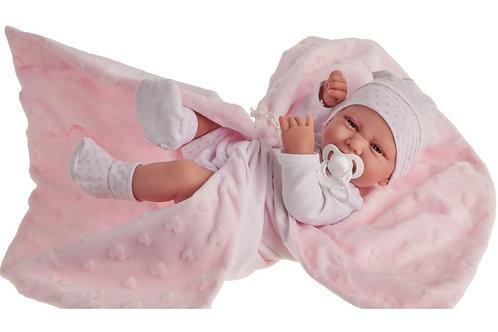 Recien Nacida Carla Manta jouet-reborn sexué fille d'Antonio Juan 5020