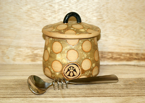 Honey Pots - Handmade Pottery