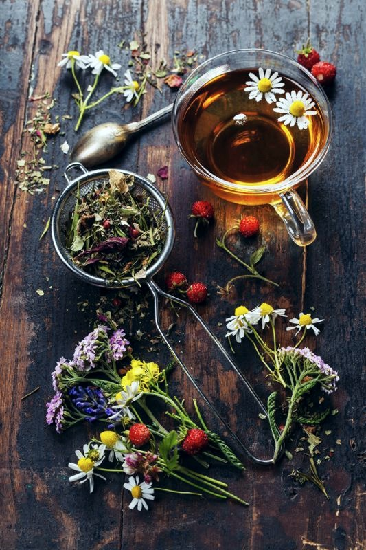 Herbal Blends vs. Tea